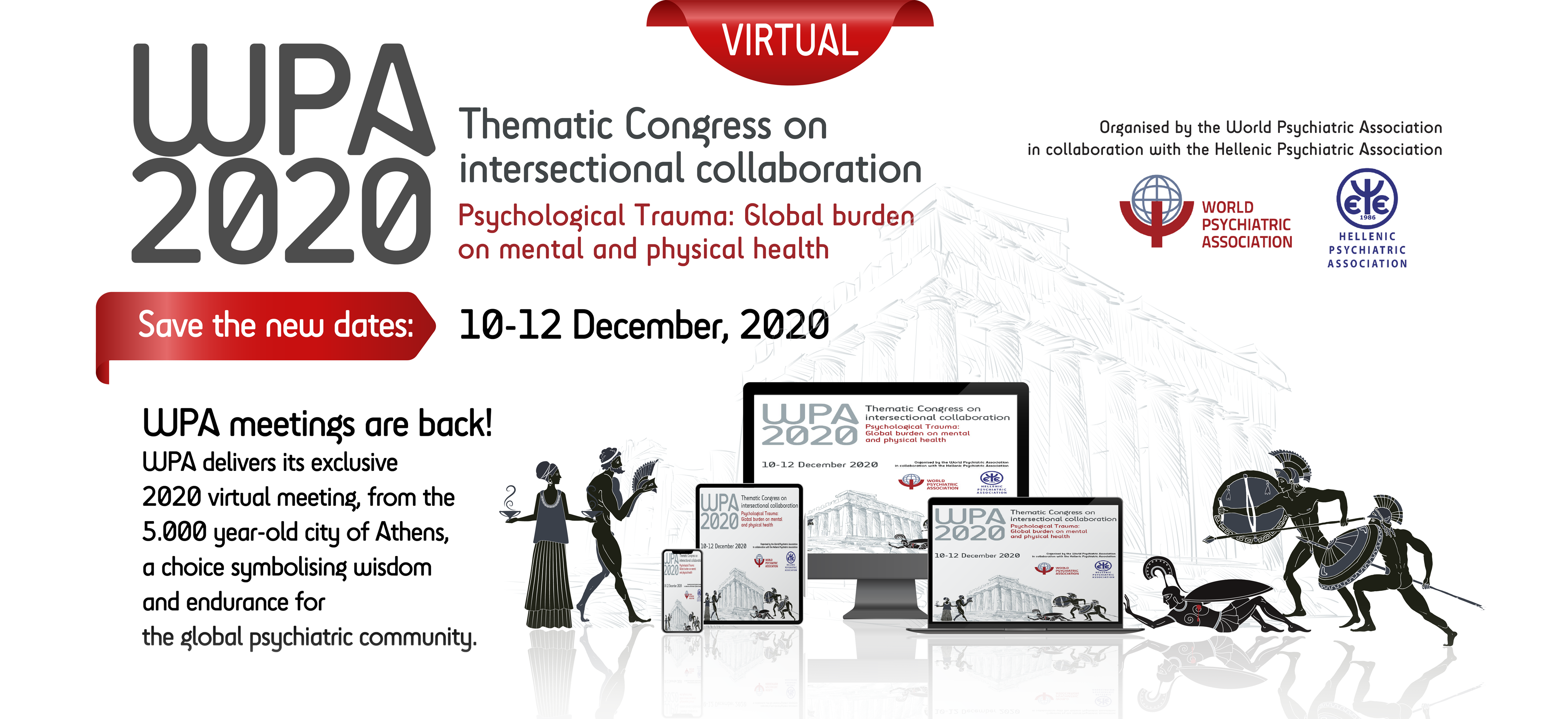 VIRTUAL WPA Thematic Congress on Intersectional Collaboration | 10-12 December 2020 | Athens - Greece